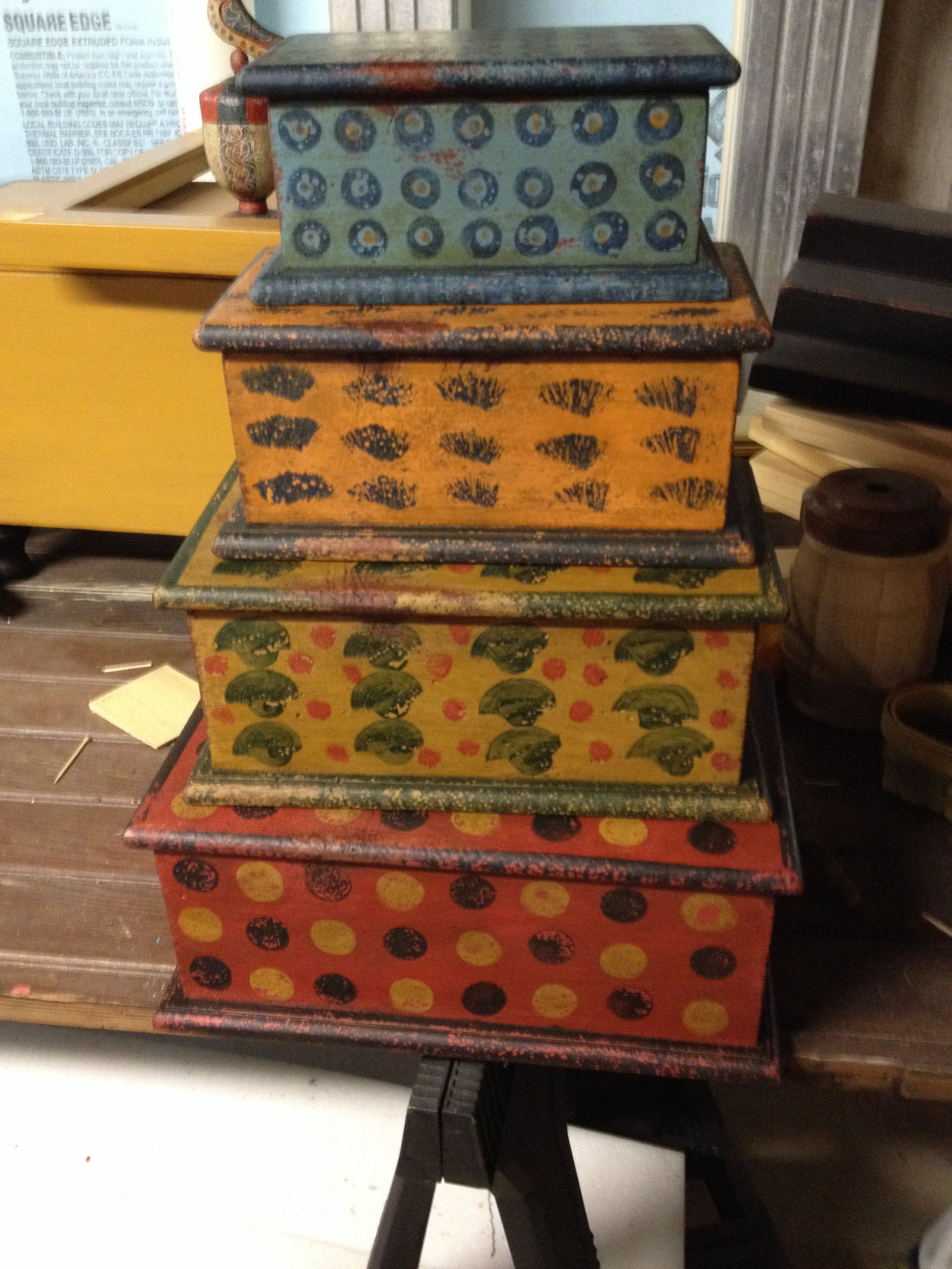 Antique Furniture Lancaster Pa Beautiful Stack O Painted Chests by Jim Murphy Lancaster Pa