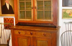 Antique Furniture Lancaster Pa Lovely A Paint Decorated Dutch Cupboard – Olde Hope Antiques