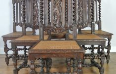 Antique Hand Carved Furniture Best Of Set Of Six 19th Century Hand Carved French Oak Dining Chairs