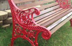 Antique Iron Garden Furniture Elegant Vintage Cast Iron Bench Restored