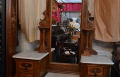 Antique Marble Top Furniture Lovely Antique Eastlake Vanity With Marble Top