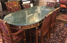 Antique Marble Top Furniture Lovely Regency Dining Table With Green Marble Top