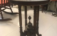 Antique Round Tables Furniture Luxury Vintage Marble Top Round Table Furniture Tables & Chairs