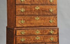 Antique Tiger Maple Furniture Luxury Tiger Maple Highboy By Donald Dunlap Antique Appraisers