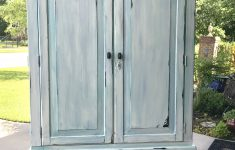 Antique White Distressed Furniture Fresh Distressed Armoire Painted Antique White Distressed And
