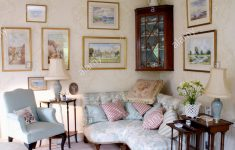 Antique White Living Room Furniture Beautiful Above Pale Blue Victorian Corner Sofa In Country