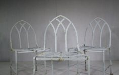 Antique Wrought Iron Garden Furniture Awesome Antiques Atlas Set Eight Antique Wrought Iron Garden