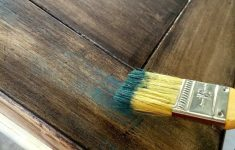 Antiquing Furniture With Paint And Stain Luxury Dry Brush Over Stain