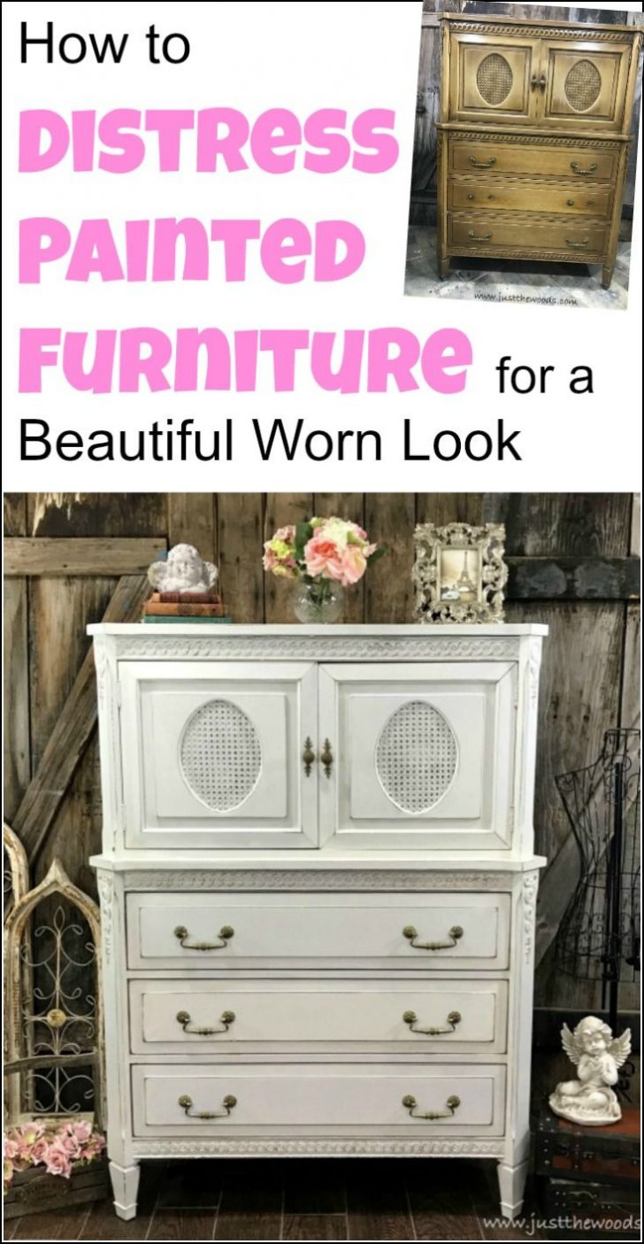 Antiquing Wood Furniture with Paint 2020
