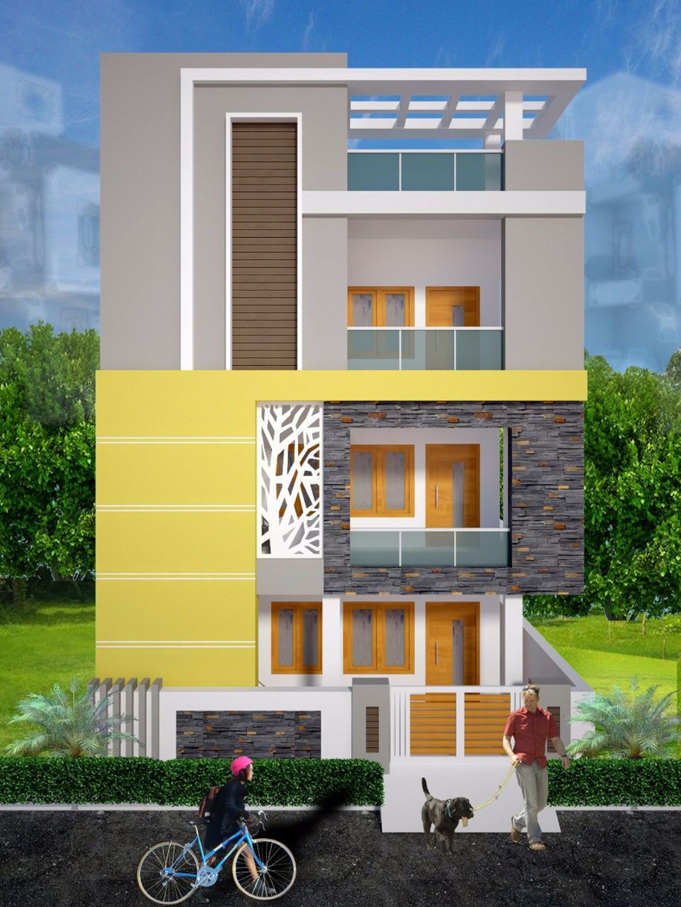 Beautiful House Front Elevation Luxury Pin by Benjie On Jing