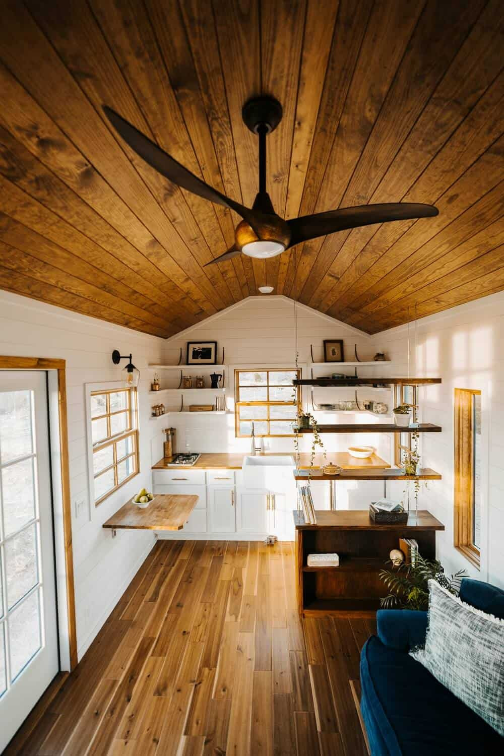 monacle tiny house interior