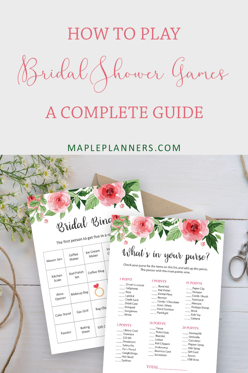 Bridal Jeopardy Rules Fresh A Plete Guide to Bridal Shower Games Maple Planners