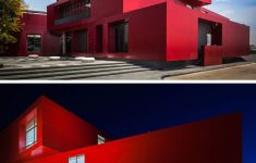 Build A House For 75000 Elegant 11 Red Houses And Buildings That Aren T Afraid To Make A