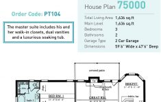 Build A House For 75000 Unique E Story Style House Plan With 3 Bed 2 Bath 2 Car