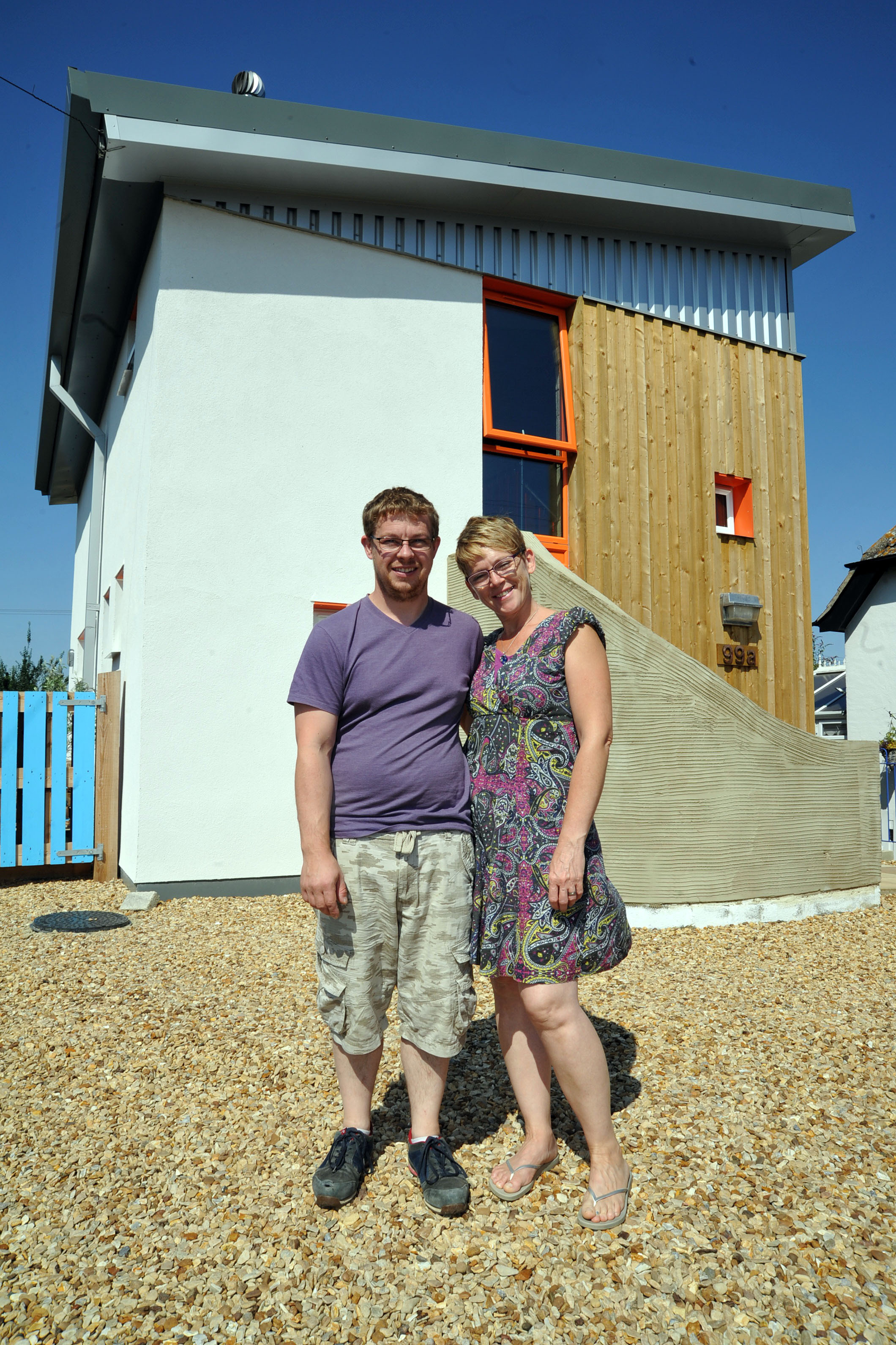 why less is more in eco home andy and jo built for themselves in sutton bridge