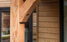 Building A Modern Home For 300k Luxury Self Build Front Porch Timber Frame House With Timber