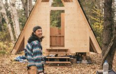 Building An Affordable Cabin Awesome How To Build An Diy A Frame Cabin For Under $10k