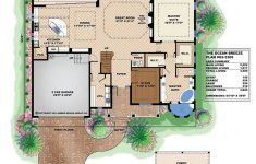 Caribbean Style House Plans Awesome Ocean Breeze House Plan In 2020