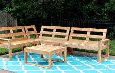 Cedar Deck Furniture Plans Inspirational How To Make An Outdoor Sectional