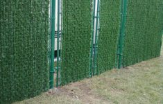Chain Link Fence Hedge Inserts Inspirational Evergreen Permahedge Chain Link Fence Enclosure Installed At