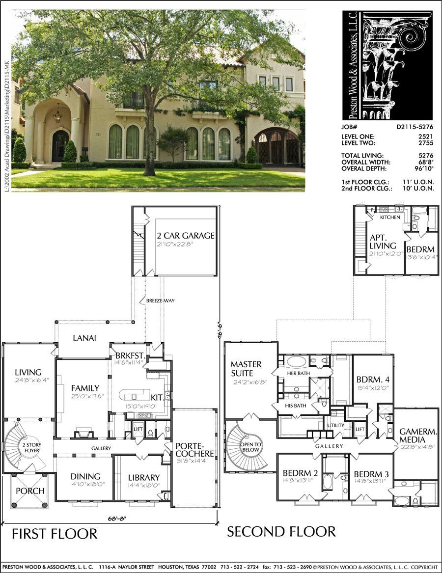 Cheap Two Story House Plans Awesome Two Story Home Design Ad2115