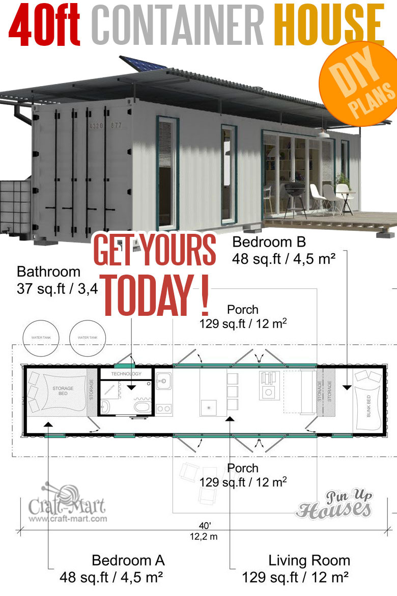 201 tiny homes container 40ft