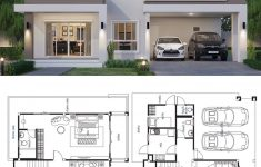 Contemporary House Design Plans Inspirational House Design Plan 12x9 5m With 4 Bedrooms