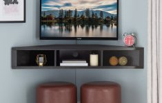 """Corner Tv Stands For Flat Screens Best Buy Unique French Floating Corner Tv Stand For Tvs Up To 55"""""""
