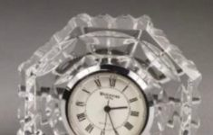 Crystal Desk Clocks Small Fresh Waterford Small Octagonal Crystal Clock Paperweight