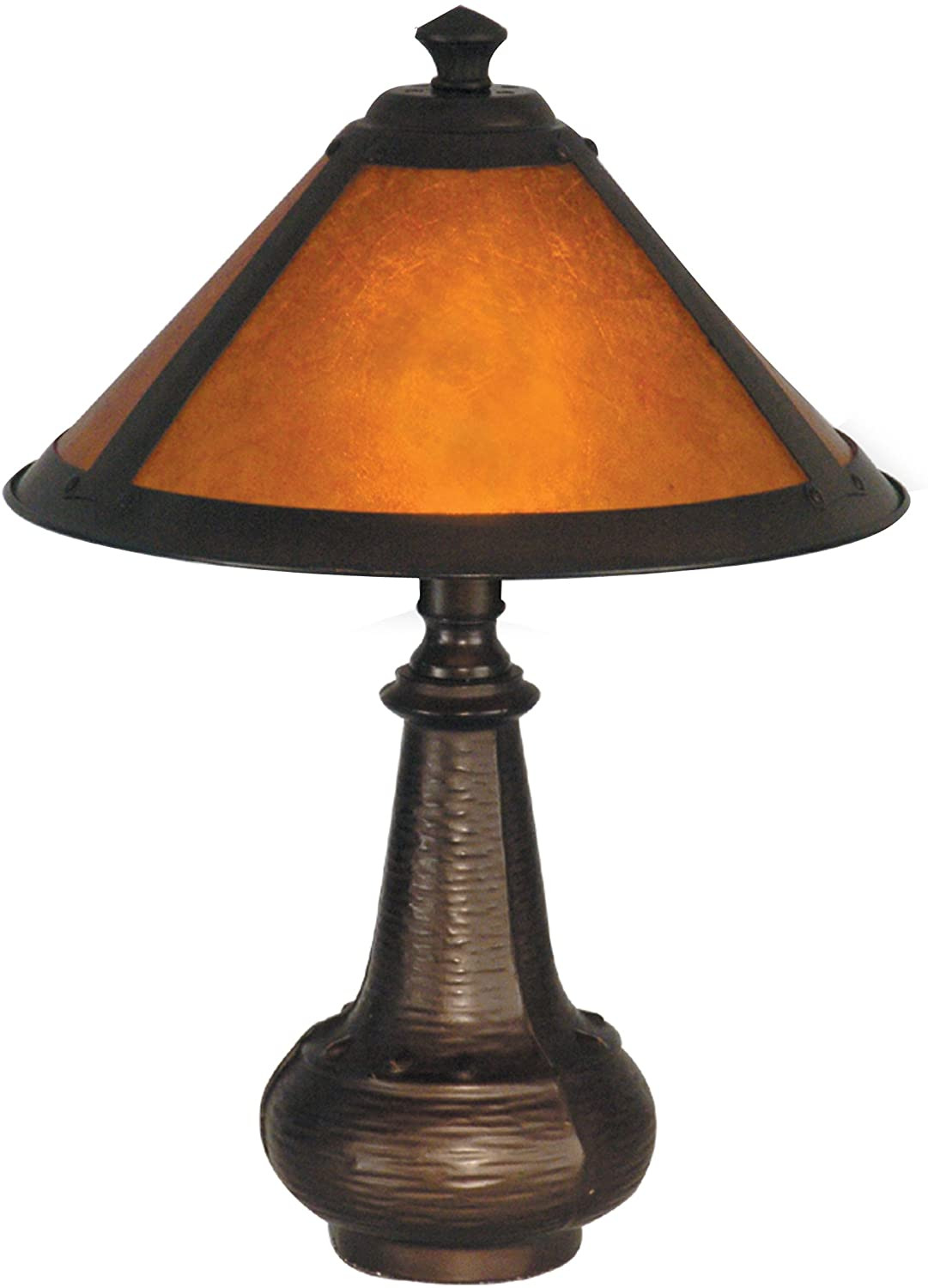 Dale Tiffany Lamps History Beautiful Details About Dale Tiffany Hunter Mica Accent Lamp Antique Bronze & Mica Shade Home Lights New