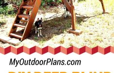 Deer Hunting Shooting House Plans Awesome Deer Box Stand Plans