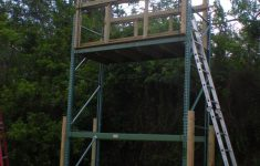 Deer Hunting Shooting House Plans Best Of The Penthouse Deer Blind Made From Industrial Racks I Am
