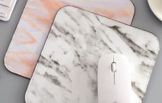 Desk Pad Singapore New 1 Pc Mouse Pad Marble Pattern Fashion Creative Durable Mouse Pad