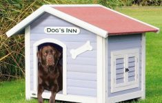 Dog House Plans With Hinged Roof Elegant Trixie Dog S Inn Dog House In Blue White