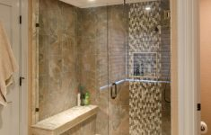 Double Walk In Shower Designs Unique Shower Ideas Large Tile Shower With Custom Shower Seat