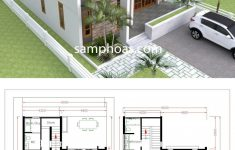 Duplex Bungalow House Plans Fresh House Plans 9x10m With 5beds In 2020