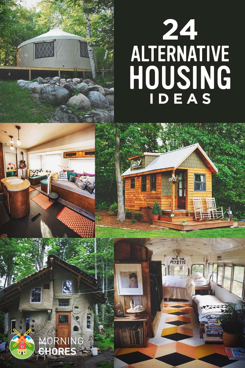 24 Cheap Alternative Housing Ideas