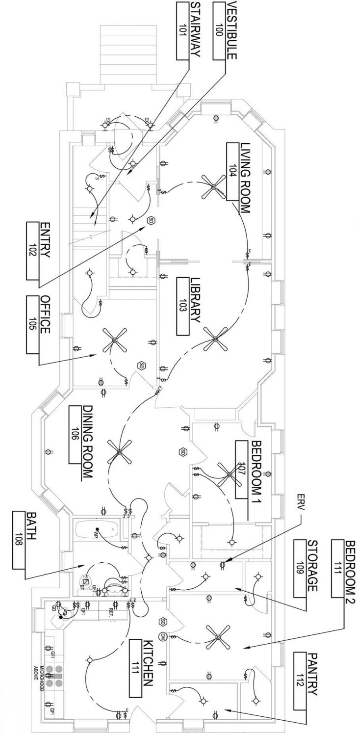Electrical Wiring House Plans 2020