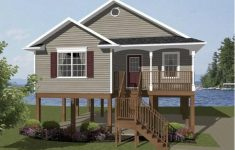 Elevated House Plans Waterfront Inspirational Ch164 Modern Beach House Plan Beach House Plans