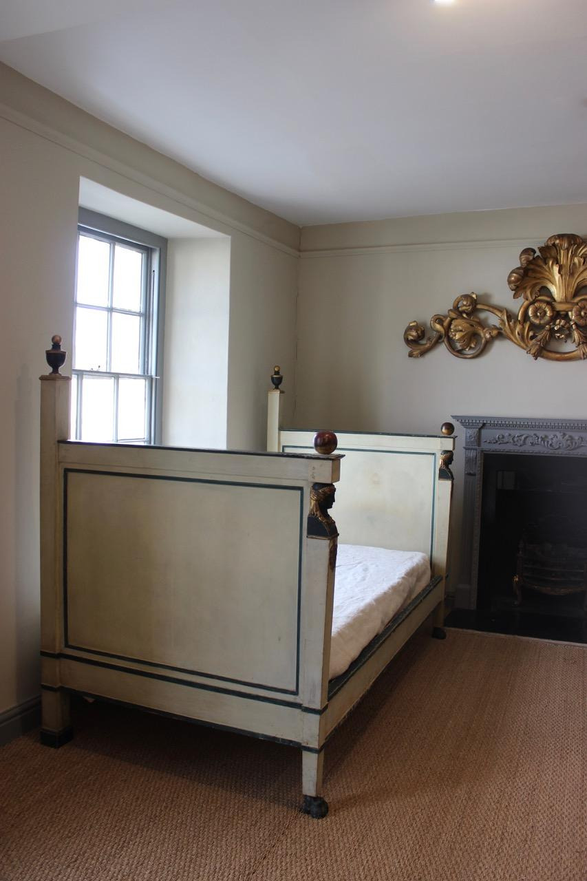 outstanding early 19th cent french empire bed 39 67 refno