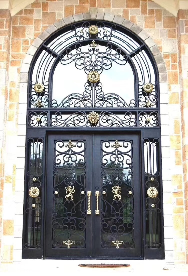 wrought iron single gate designs wrought iron front door hardware