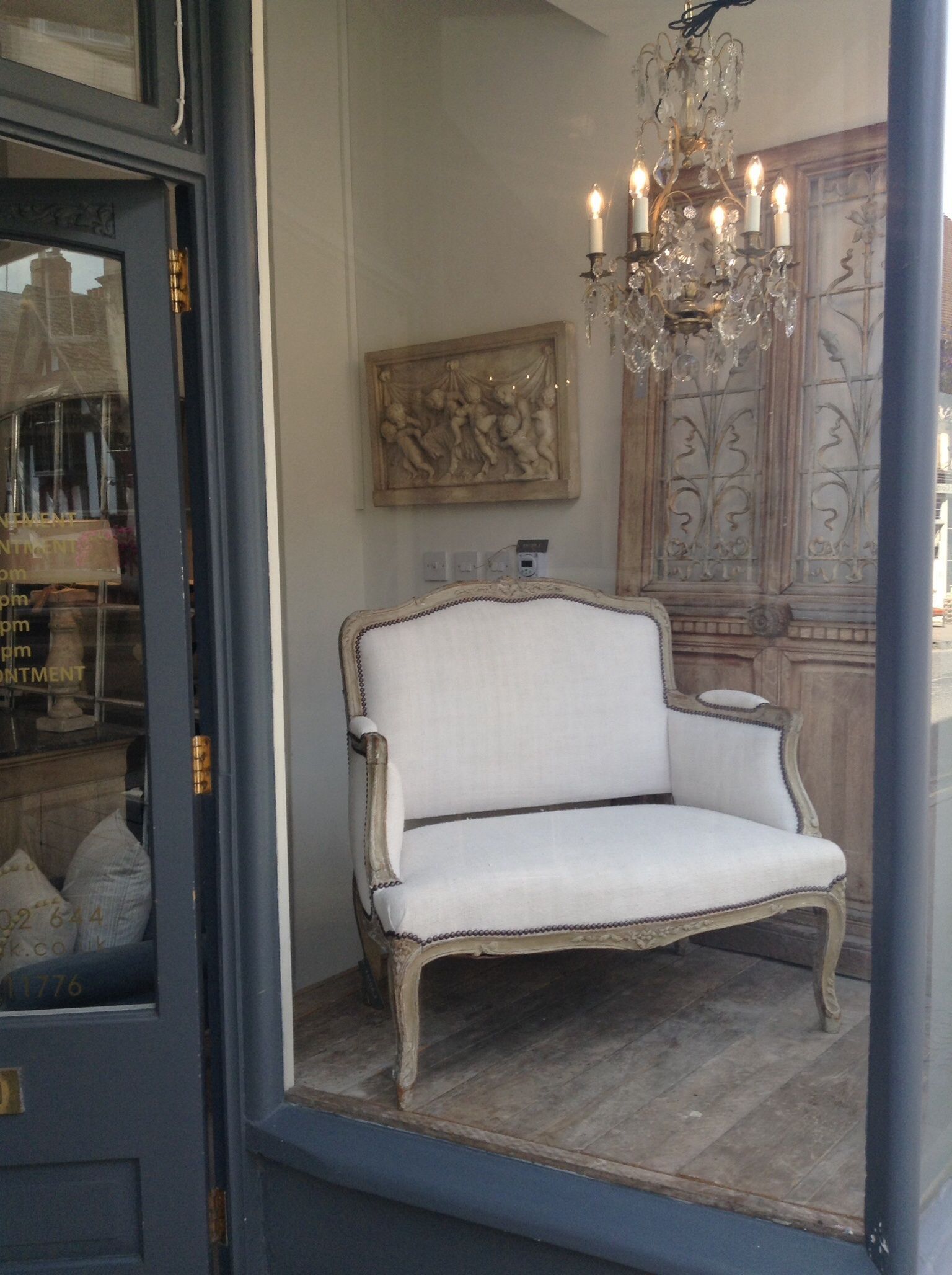 French Antique Furniture Dealers Luxury French Chair In Antique White Linen