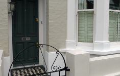 Front Gate Wall Design Elegant Front Garden Fulham And Chelsea London Rendered Wall Slate