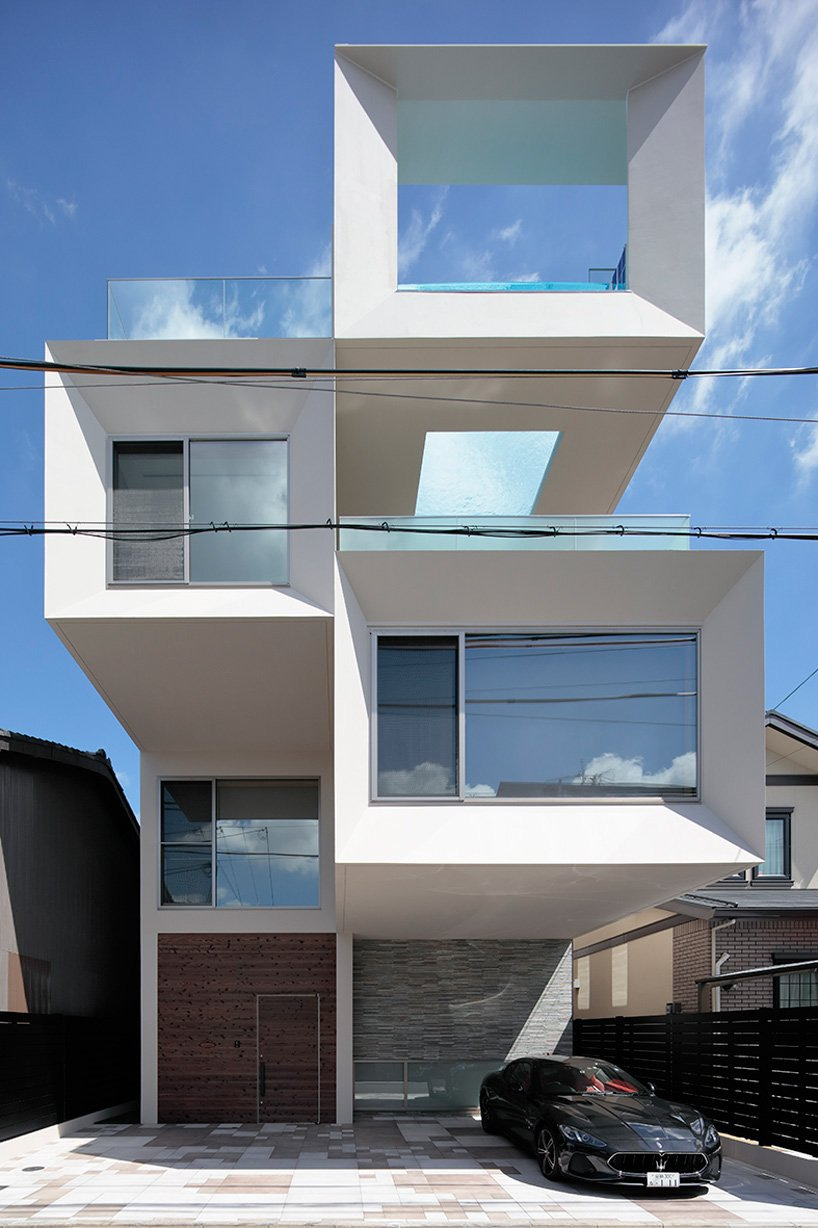 Front House Designs south Africa Inspirational Eastern Design Office Stacks Concrete Square Tubes for House