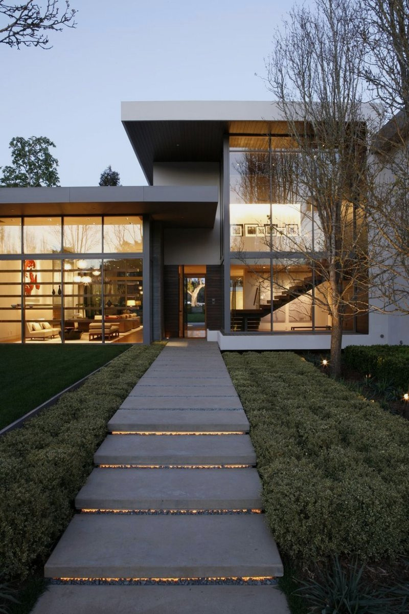 outdoor of Modern Interior Design for Big House