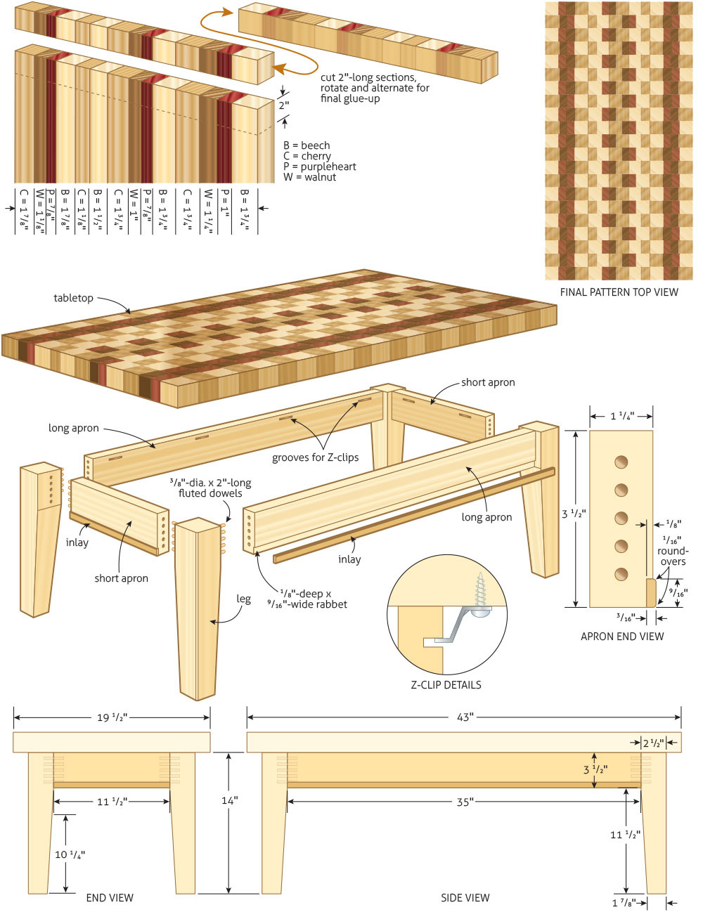 Gun Storage Coffee Table Plans Awesome Woodworking Plans for Coffee Table