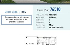H Style House Plans Inspirational Modern Style House Plan With 3 Bed 1 Bath 1 Car Garage