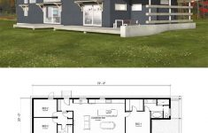 H Style House Plans Unique Modern Style House Plan 3 Beds 2 Baths 1356 Sq Ft Plan