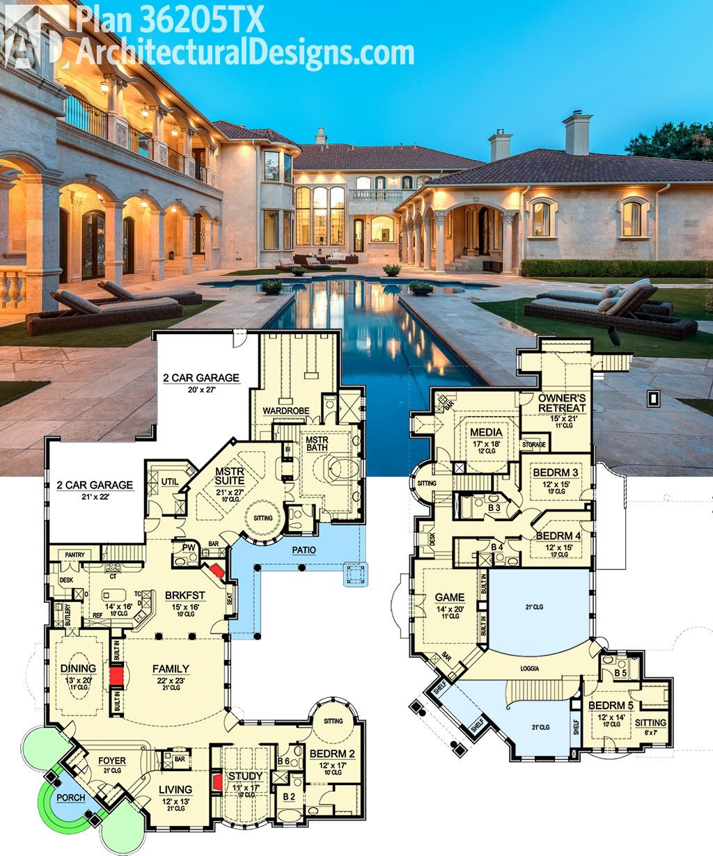 High End House Plans Beautiful Plan Tx Two Story Master Retreat