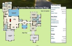 Hill Country House Plans Luxury Beautiful Plan Ly 3 Bed Hill Country House Plan With Two Living